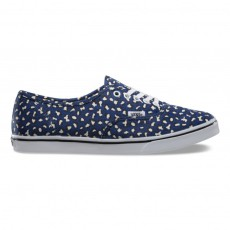 authentic lo pro (Herringbone Leopard) Twilight BlueTrue White