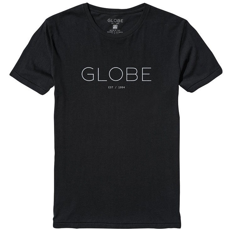 Футболка-GLOBE-Phase-Tee-black-white