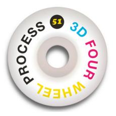 Колеса 3D Process 51mm