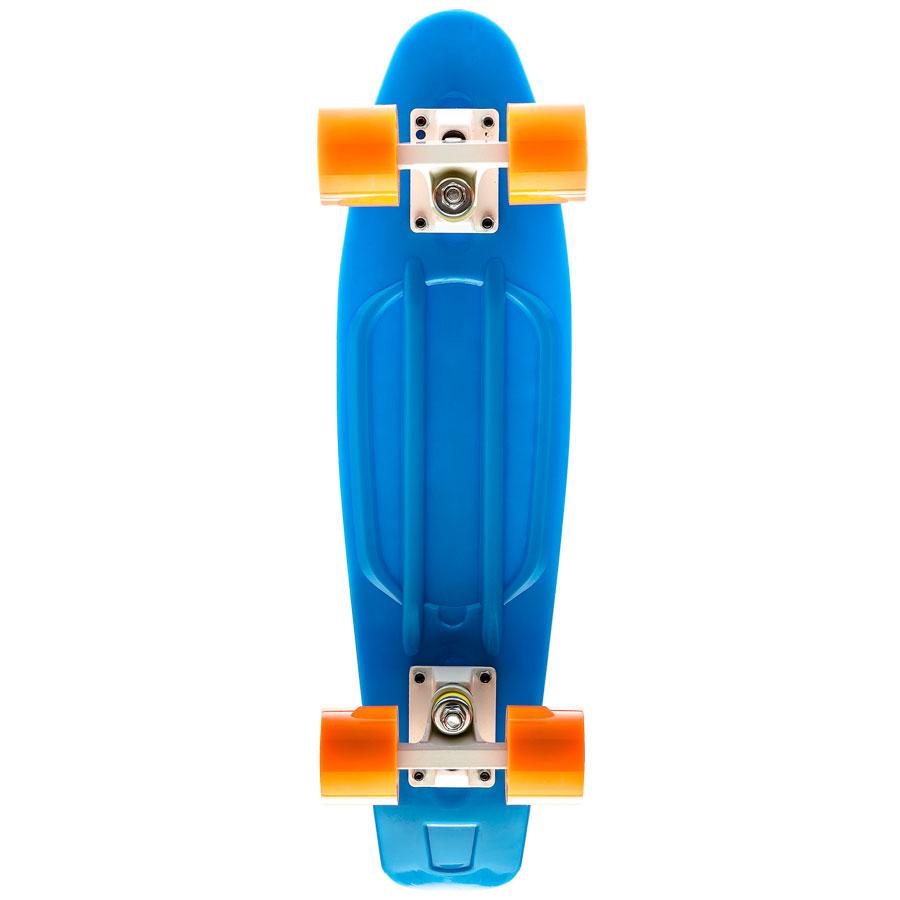 Пластиковый-лонгборд-9.8-Blue