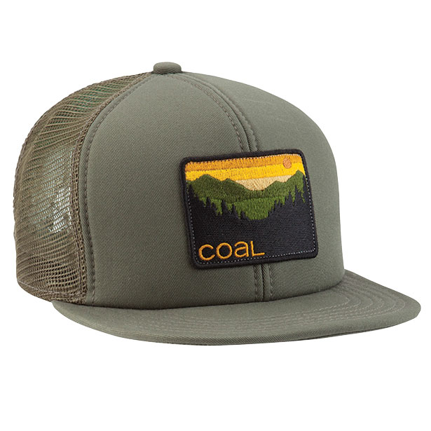 кепка-Coal-the-Hauler-olive
