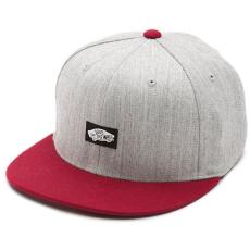 Nakrycia głowy męskie VANS czapka męska HEEL SCAB CAP Heather Grey/Wine VXWIEFK