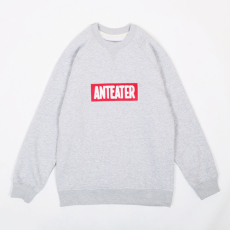 Anteater crewneck-patch_grey