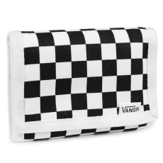 accessori vans slipped wallet black white