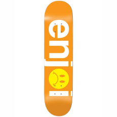 Enjoi SS19 Frowny Face No Brainer HYB Orange 8,125 x 31,875 x 14,25WB
